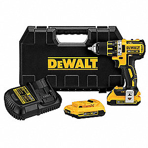 "20V MAX Compact XR Brushless Li-Ion 1/2"" Cordless Drill/Driver Kit, Battery Included"