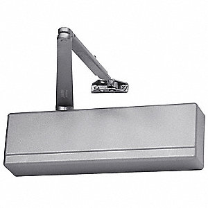 Manual Hydraulic Sargent 351-Series Door Closer, Heavy Duty Interior and Exterior, Aluminum