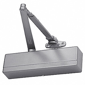 Manual Hydraulic Sargent 1431-Series Door Closer, Heavy Duty Interior and Exterior, Aluminum