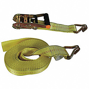 Tie-Down Strap,Ratchet,25ft x 2In,3330lb
