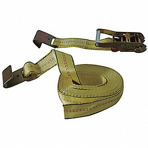 Tie-Down Strap,Ratchet,27ft x 2In,3333lb