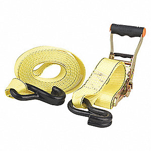 Recovery Strap 3inx20ft Chain Leads