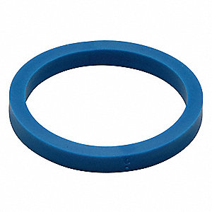 EPDM Rubber Spud Gasket, Black, For Use With Most Standard Urinal Fixtures with Flush Valves, For Us
