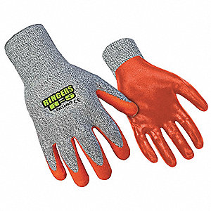 Cut Resistant Gloves,HPPE Palm,XXL,PR