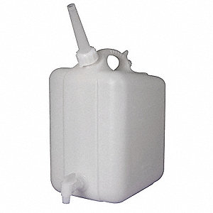 HDPE Jerrican with Spigot, 1.25 gal. 1EA