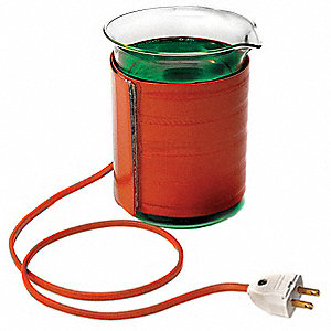 "Beaker Heaters Series Silicone Beaker Heater, 0° to 232° (C) 13.75""L x 3.5""W, 240V"