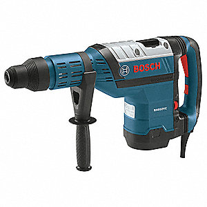 SDS Max Rotary Hammer Kit, 13.5 Amps, 1350 to 2800 Blows per Minute, 120 Voltage