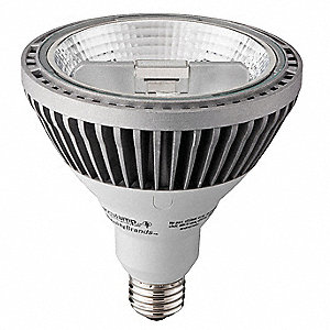 15 Watts White PAR38 LED Lamp, 600 Lumens