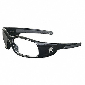 SWAGGER® Scratch-Resistant Safety Glasses, Clear Lens Color