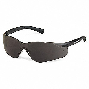 Bearkat Anti-Fog, Scratch-Resistant Safety Glasses , Gray Lens Color