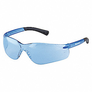BEARKAT® Scratch-Resistant Safety Glasses, Light Blue Lens Color