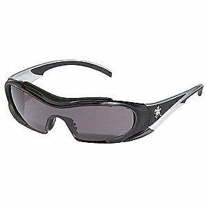 Hellion® Anti-Fog, Scratch-Resistant Safety Glasses, Gray Lens Color