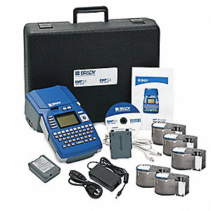 Portable Label Printer Kit,BMP51,1in/sec