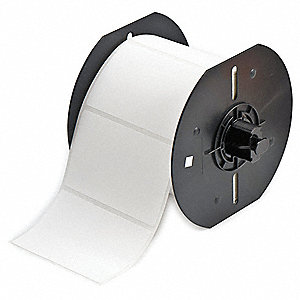 "Thermal Transfer Label Roll, White, 2""W x 3"""