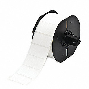 "Label,White,  BBP33 Label Roll, 1"" W"