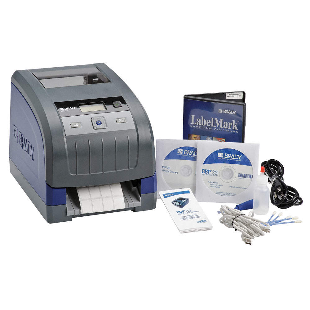 Desktop Label Printer Kit, Printer Series: BBP33
