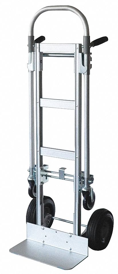 Convertible Hand Truck,  Load Capacity as Hand Truck 500 lb