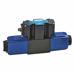 "8.6"" x 2"" x 3.6"" Solenoid Operated Hydraulic Directional Valve"