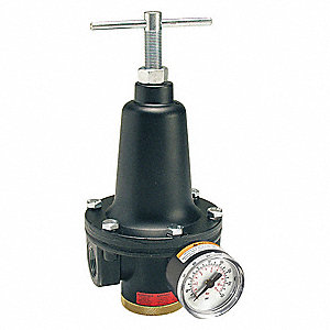 "1/2"" General Purpose Air Regulator , 150 cfm Max. Flow (Regulators)"