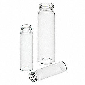 Type I Borosilicate Glass Vial, 0.14 oz. 100PK