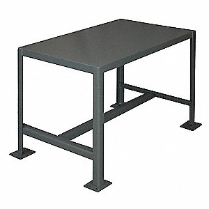MACHINE TABLE,24X36X42,1 SHELF