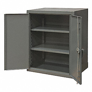 STORAGE CABINET,20X36X36,2 SHELVES