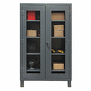 STORAGE CABINET,24X48X78,4 SHELVES