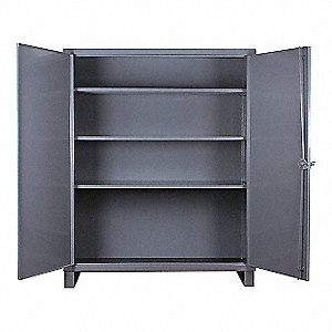 STORAGE CABINET,24X72X66,3 SHELVES