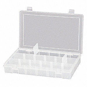 COMPARTMENT BOX, POLYPROPYLENE