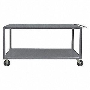 Utility Cart,Steel,48 Lx30 W,5000 lb.