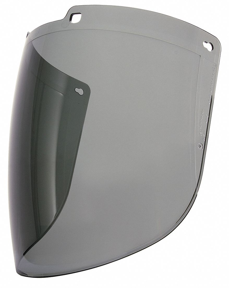 Faceshield Visor,  For Use With TURBOSHIELD Headgear and Hardhat Adapter Only