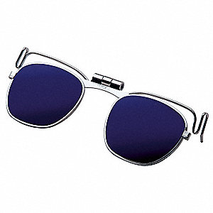 Clip On Eyewear,Cobalt Blue Shade 8