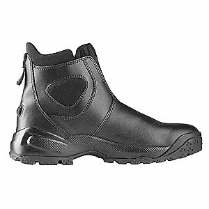Military/Tactical Boots, Toe Type: Composite, Black, Size: 8