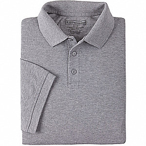 Professional Polo Tall,3XL,Heather Gray