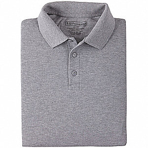 Professional Polo, 2XL, Heather Gray