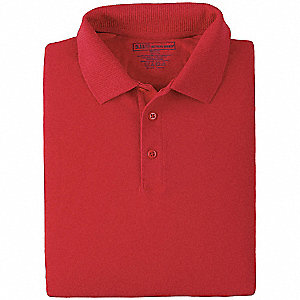 Professional Polo, L, Range Red