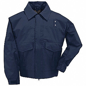 "Patrol Jacket, L/M Fits Chest Size 38"" to 40"", Dark Navy Color"