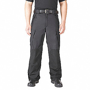 Rain Pant,Mens,L/L,Black,35-1/2Inseam