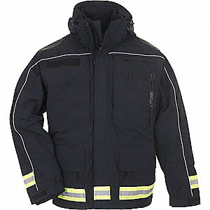"Responder Parka, M Fits Chest Size 38"" to 40"", Dark Navy Color"