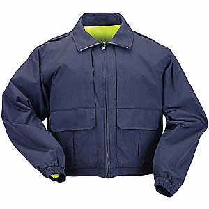 "Duty Jacket, XL Fits Chest Size 46"" to 48"", Dark Navy Color"