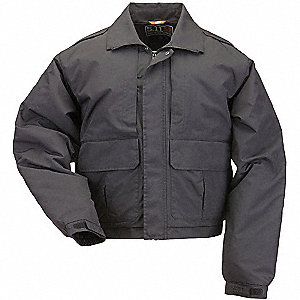 "Jacket, XL Fits Chest Size 46"" to 48"", Black Color"