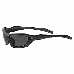 BURNER FULL FRAME Scratch-Resistant Safety Glasses, Smoke Lens Color