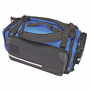 BLS Bag,Alert Blue,24.5 x 15 x 11 In