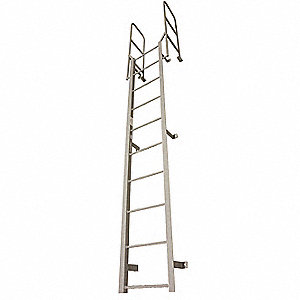 Superb 3 Ft 8 Steel Fixed Ladder Side Step Exit 300 Lb Load Capacity Pdpeps Interior Chair Design Pdpepsorg