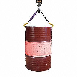 Grainger Approved Drum Sling Vertical 1000 Lb Load
