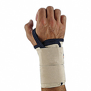 Wrist Support, Left, XL, Tan