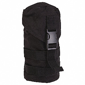 H20 Carrier,Black,Nylon,7-1/2 x 4-1/8 In