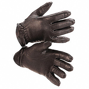 Cold Protection Gloves, Thinsulate Lining, Elastic Cuff, Black, L, PR 1