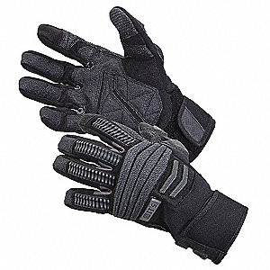 Tactical Glove,Black,L,PR