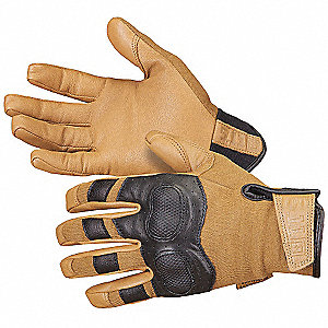 Leather Gloves,Goatskin,Coyote,S,PR